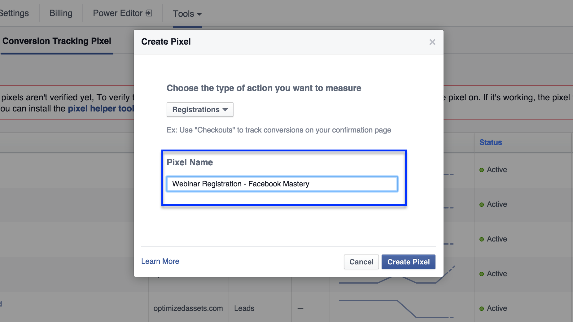 how to get fb pixel to work